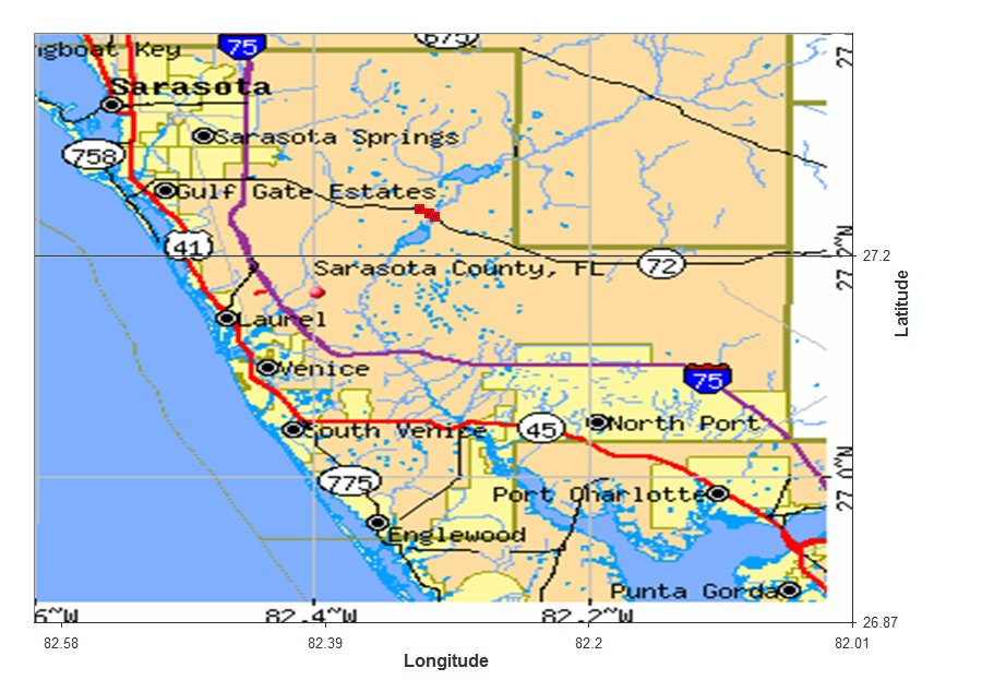map of venice fl with Sarasota on 79797478 N08 besides Melbourne also Jupiter Homes additionally Casey Key together with World Map 600 Ad.